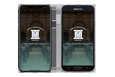 Direct democracy app