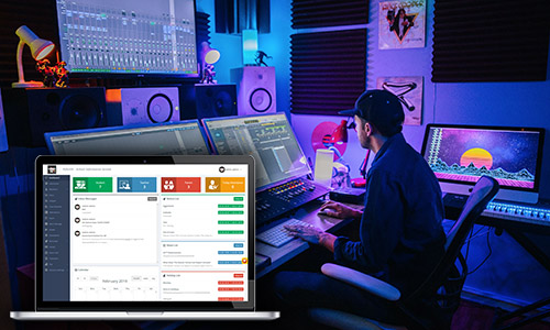 sound studio management systems by NovaTechZone