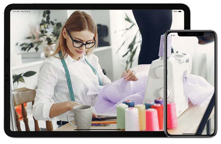web mobile software solutions for apparel and textile industry