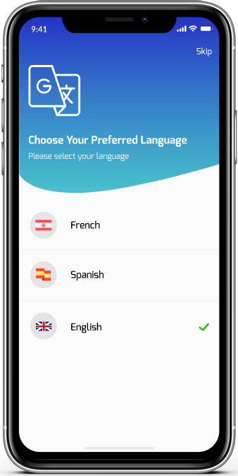 Build Your Custom Mobile Apps with Multi Language Options